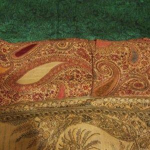 Three set pashmina scarves
